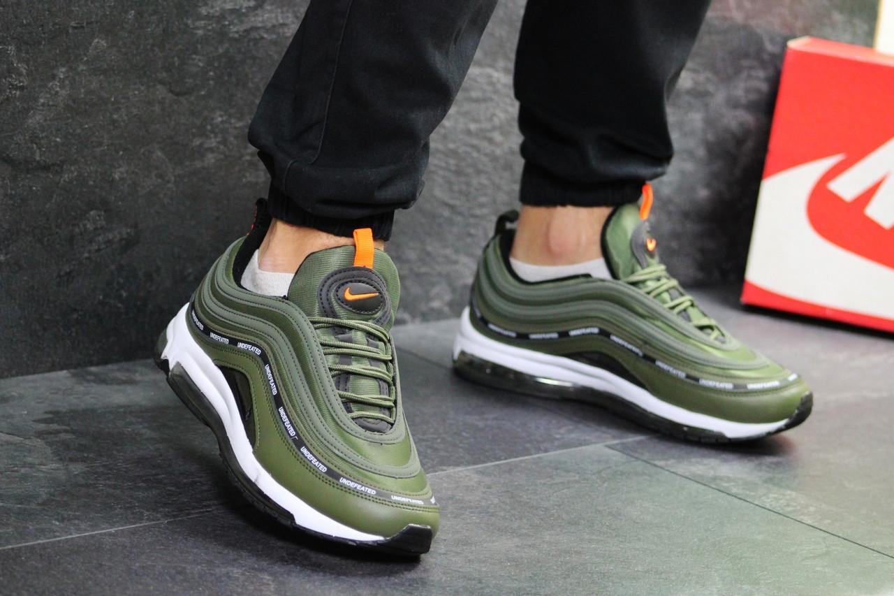 Мужские кроссовки Nike Air Max 97 (Зеленые) весна-осень