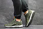 Мужские кроссовки Nike Air Max 97 (Зеленые) весна-осень, фото 5