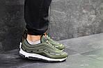 Мужские кроссовки Nike Air Max 97 (Зеленые) весна-осень, фото 4