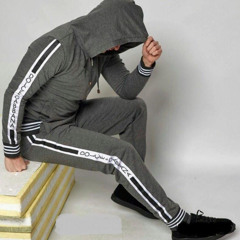 1fd781fb261f9 Мужской спортивный костюм DOLCE GABBANA копия - купить по лучшей ...