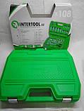 Набор инструментов Intertool Semi Professional 108 единиц, фото 2