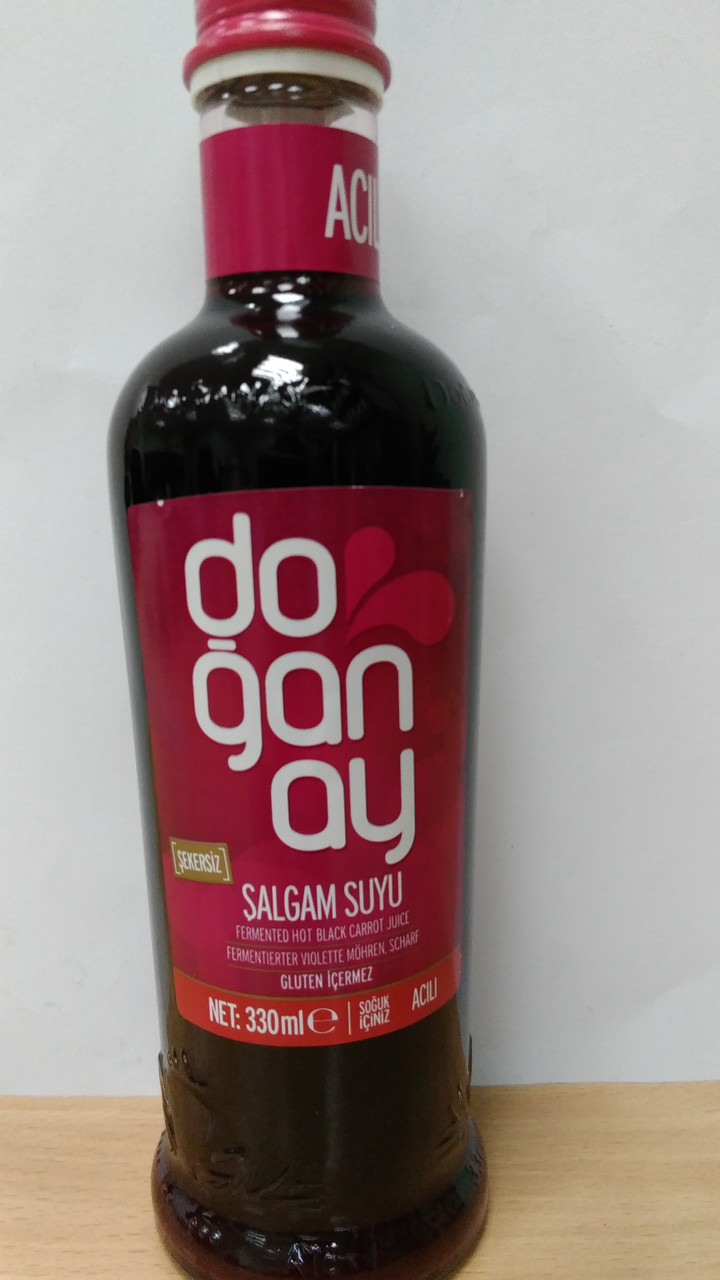 Шалгам Salgam Suyu (Сок репы) острый, 330 мл ТМ Doganay