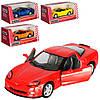 Машинка KT 5320 W інерц., мет., 1:36, відкр. двері, гумові колеса, 4 кольори, кор., 16-7,5-8 см