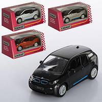 Машинка KT 5380 W інерц., мет., 1:32, відкр. двері, гумові колеса, 4 кольори, кор., 16-7-8 см