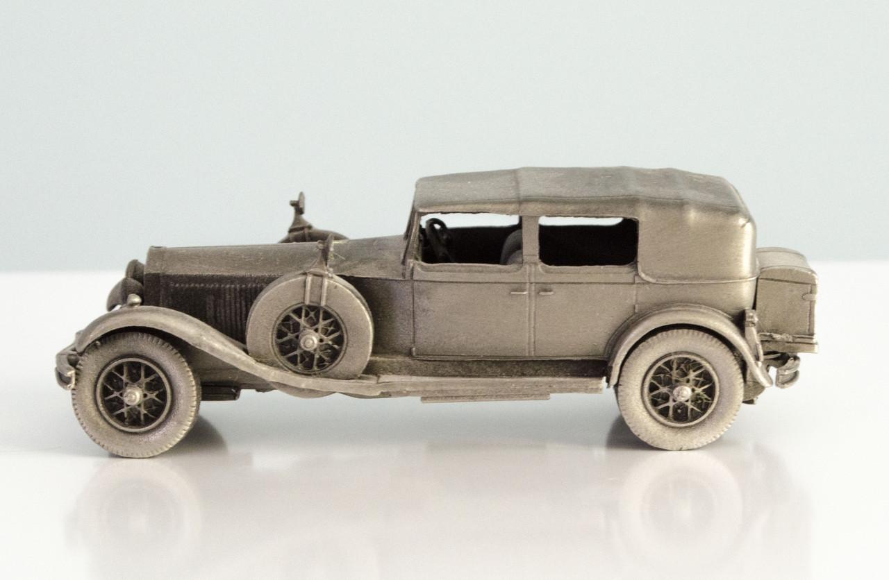 Модель автомобиля, Rolls-Royce, миниатюра, олово, Franklin Mint, Малайзия