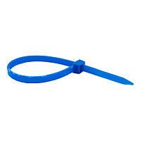 Кабельна стяжка (хомут) 400*8 синя (внутр. уп. 100шт) ТМ СПЕКТР LUX