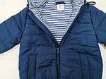 Курточка  демисезонная для мальчика  Синяя, фото 3