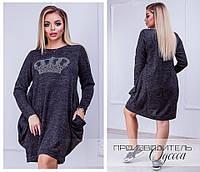Женское модное платье  РД1118/1 (бат), фото 1