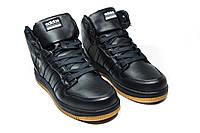 Зимние ботинки (на меху) мужские Adidas Cloudfoam (реплика) 3-046, фото 1