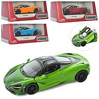 Машинка KT5403WG мет., інерц., гум. колеса, відчин. двері, 4 кольори, кор., 16-7-8,5 см.