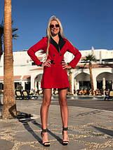 """Короткое платье-пиджак """"LOWN"""" с длинным рукавом (2 цвета), фото 3"""