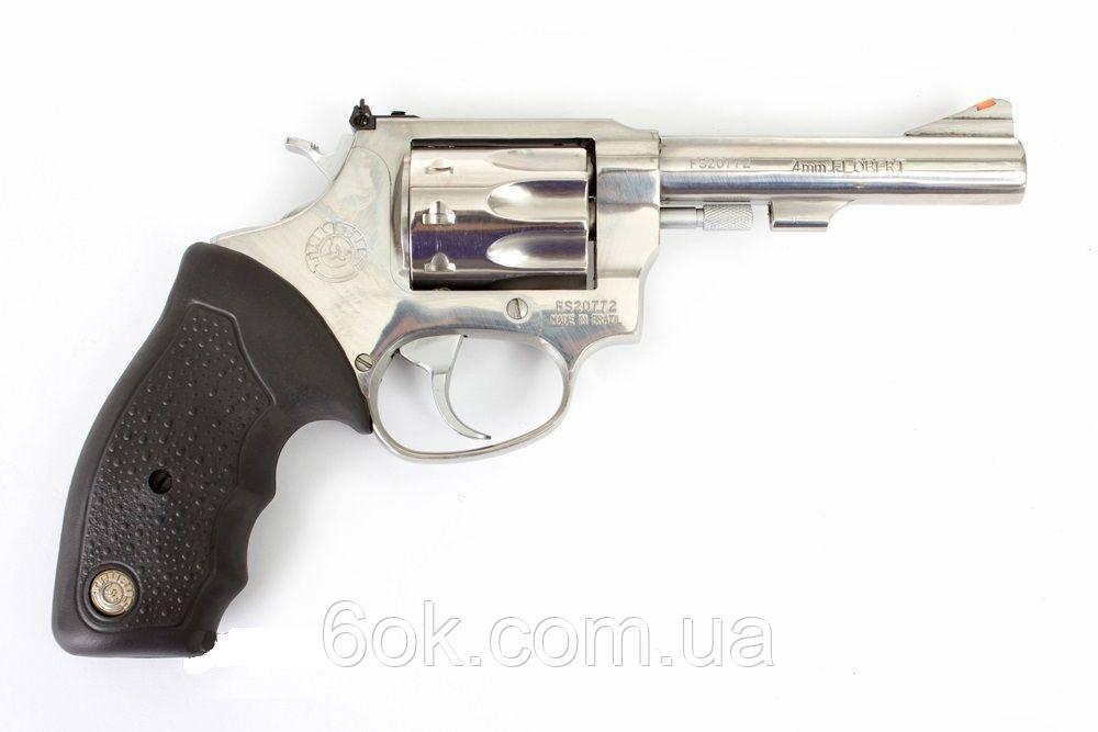 Револьвер под патрон Флобера Taurus mod.409 4″ нерж.сталь