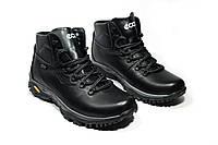 Зимние ботинки (на меху) мужские ECCO 13040 (реплика), фото 1
