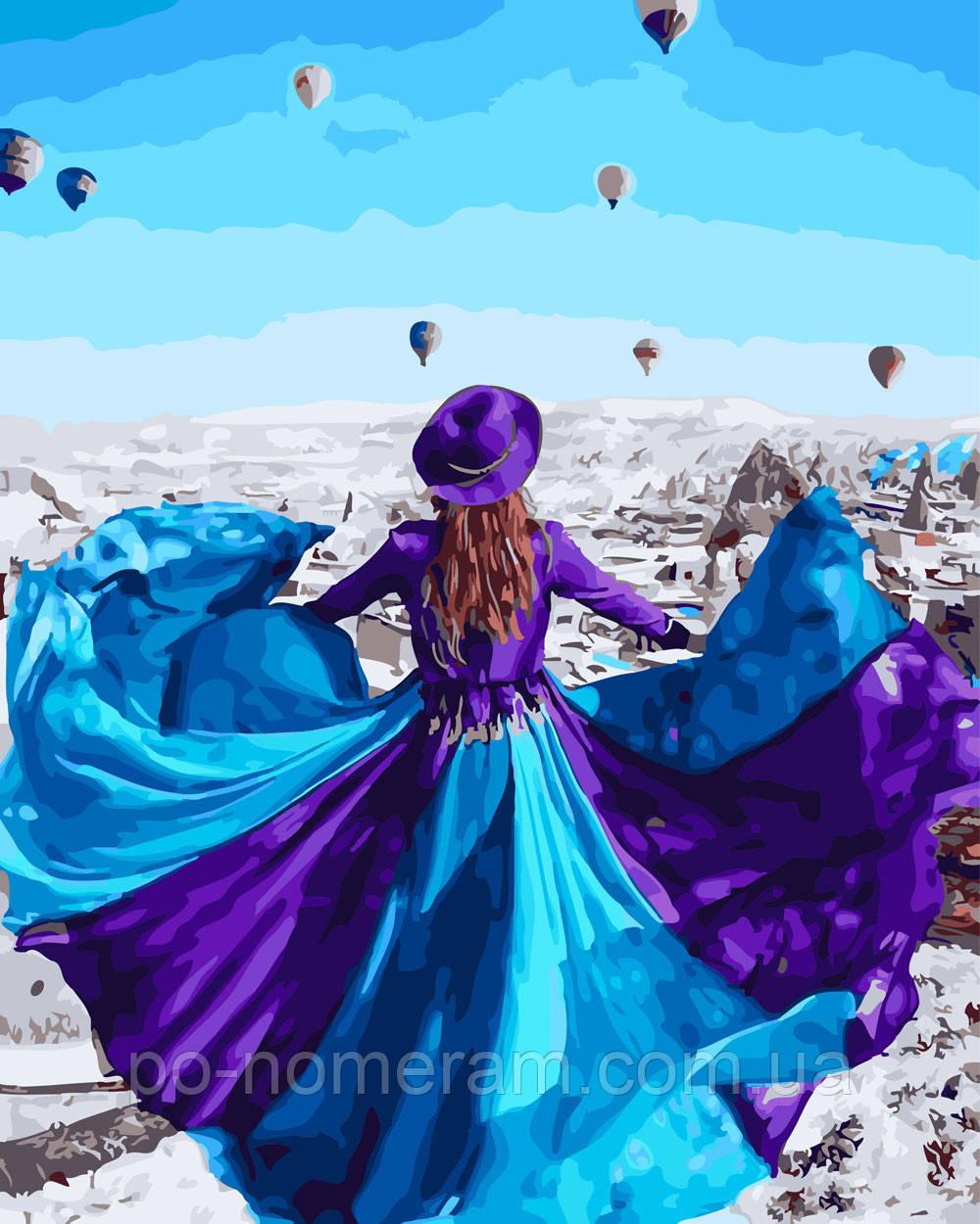 Картины по номерам Парящее платье (BRM26307) 40 х 50 см