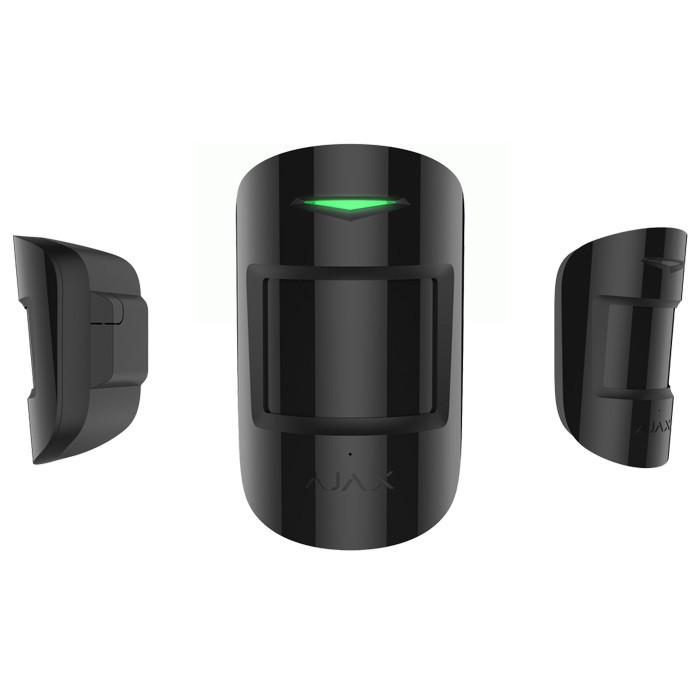 Комбинированный датчик движения и разбития Ajax CombiProtect black