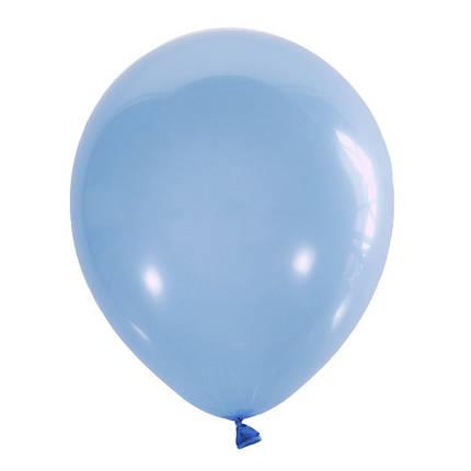 """Шар 5"""" (12 см) Мексика пастель 002 LIGHT BLUE (голубой), фото 2"""