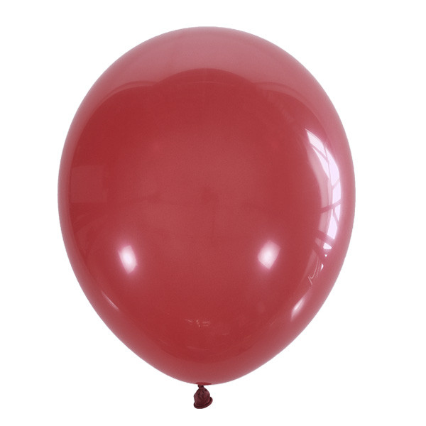 """Шар 5"""" (12 см) Мексика пастель 006 RED (красный)"""