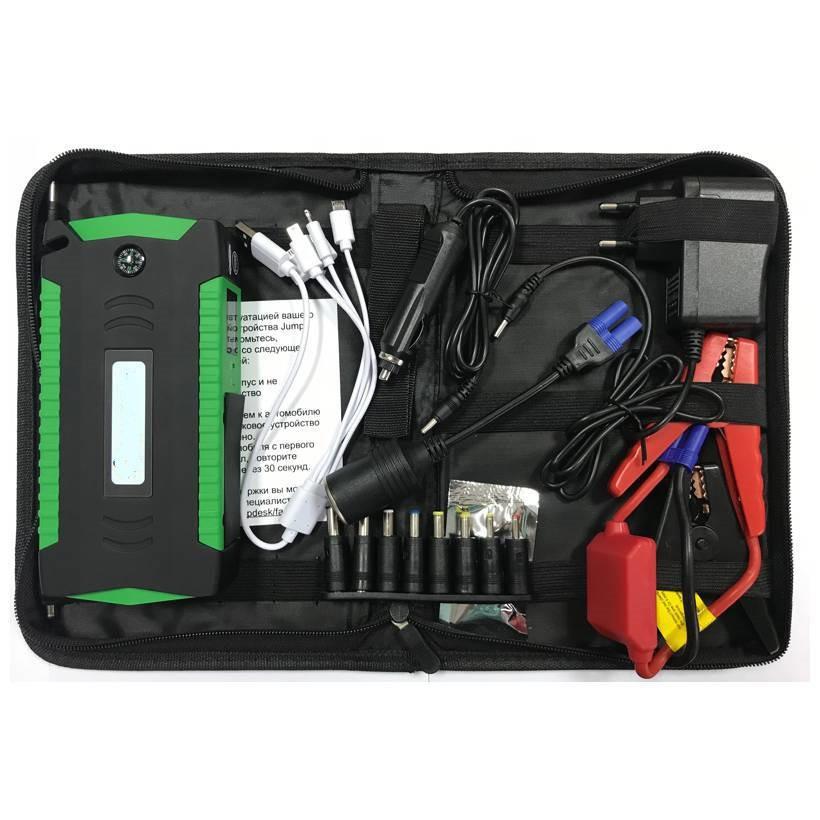 Бустер для машинипавер банк автомобильный зарядно-пусковое устройство jump starter 19F 66800 M Power Bank
