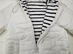 Курточка  демисезонная Белая, фото 2