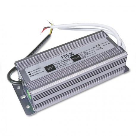 Блок питания  DC12 80W 6,67А IP67 герметичный