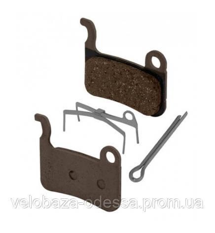 Гальмівні колодки A01S для BR-M975/M965/M775/М665/M595. полімер/resin, фото 2