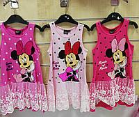 Платья для девочек оптом, Disney, 98-134 см,  № 92049