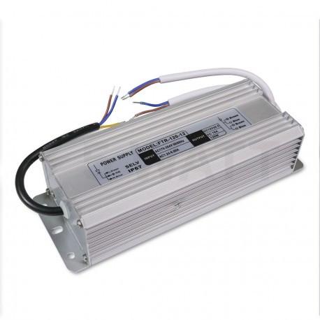 Блок питания  DC12 150W 12,5А IP67 герметичный