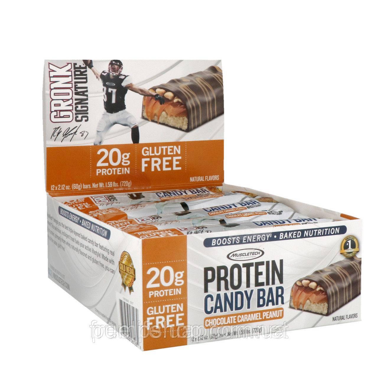 Протеїновий батончик MuscleTech Protein Candy Bar 60 г