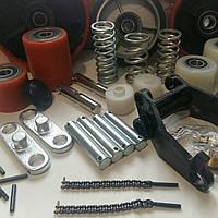 Запчасти, ролики, колеса на ручные гидравлические тележки РОКЛА