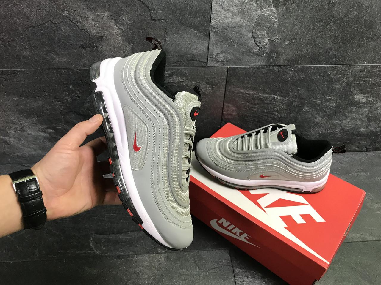 e2d84b787e8274 Чоловічі кросівки Nike Air Max 97, сірі, цена 1 050 грн., купить в ...