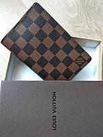 Обложка для паспорта  Louis Vuitton в коробке, фото 1