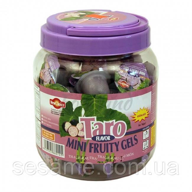 """Конфеты """"New Choice"""" фруктовое  желе со вкусом Таро с соком и кусочками фруктов. 1000г (Вьетнам)"""