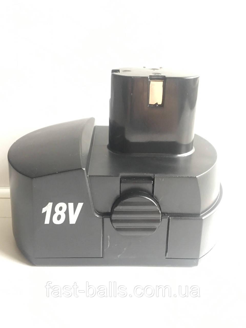 Аккумулятор для шуруповерта 18В, 1A с выступом