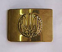 Пряжка солдатская (Герб Украины)