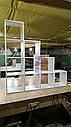 Стеллаж лесенка, полка, перегородка на 4 яруса, фото 2
