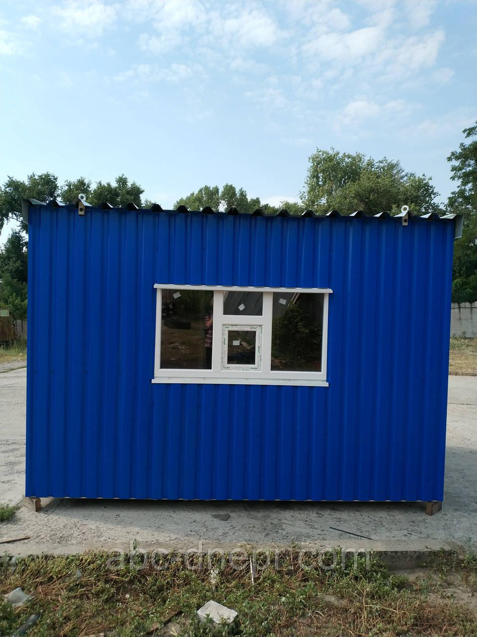 Блок-контейнер для автомобильных весов