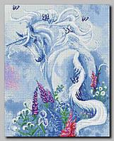 Схема для вышивки бисером Единорог