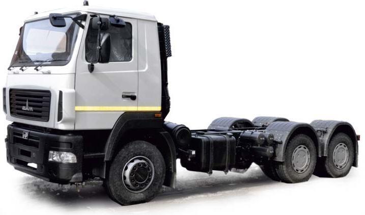 Шасси МАЗ-5340V4-545-030 (ЕВРО-5)