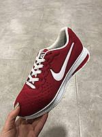 Nike Air Zoom Pegasus 34 красные с белым
