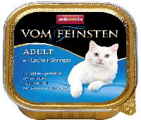 Консерва для кошек с лососем и креветками Animonda Vom Feinsten Mare mit Lachs und Shrimps