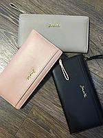 Оригинальный женский кошелёк искусственная кожа  тонкий и удобный