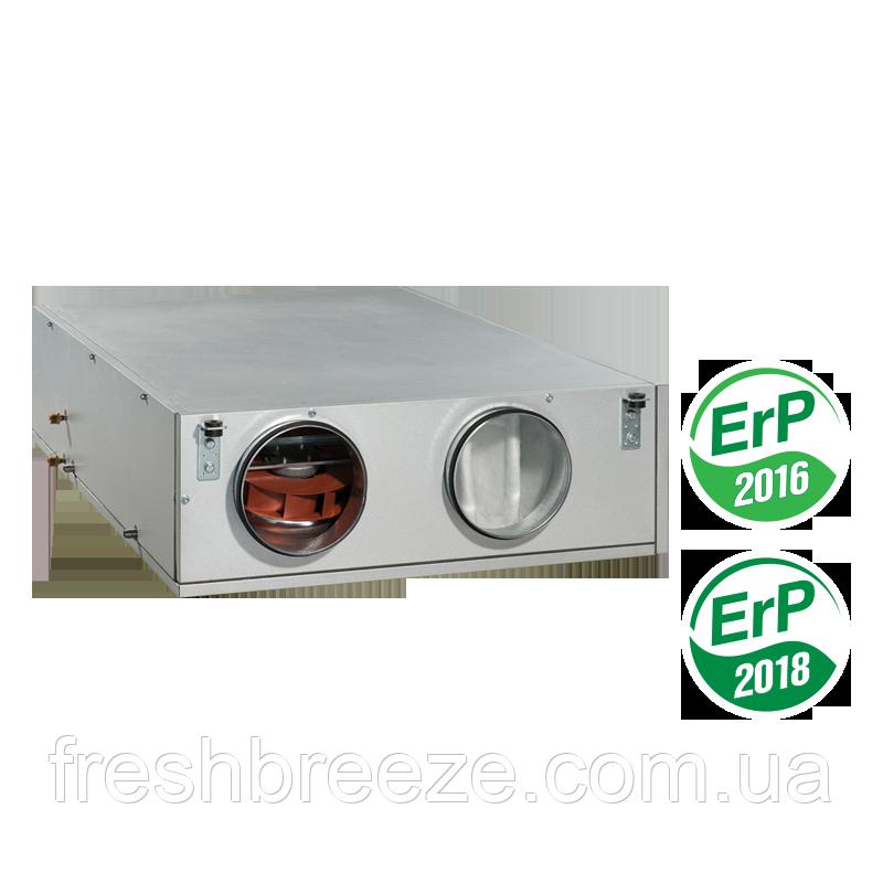 Приточно-вытяжная установка с рекуперацией тепла Vents ВУТ 600 ПВ с ЕС мотором