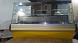 Кондитерская витрина COLD 1,4 м. бу. холодильная витрина для тортов б у, фото 4