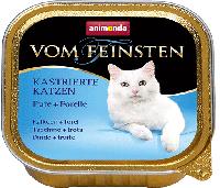 Консерва для кастирированных кошек с индейкой и форелью Animonda Vom Feinsten Pute + Forelle