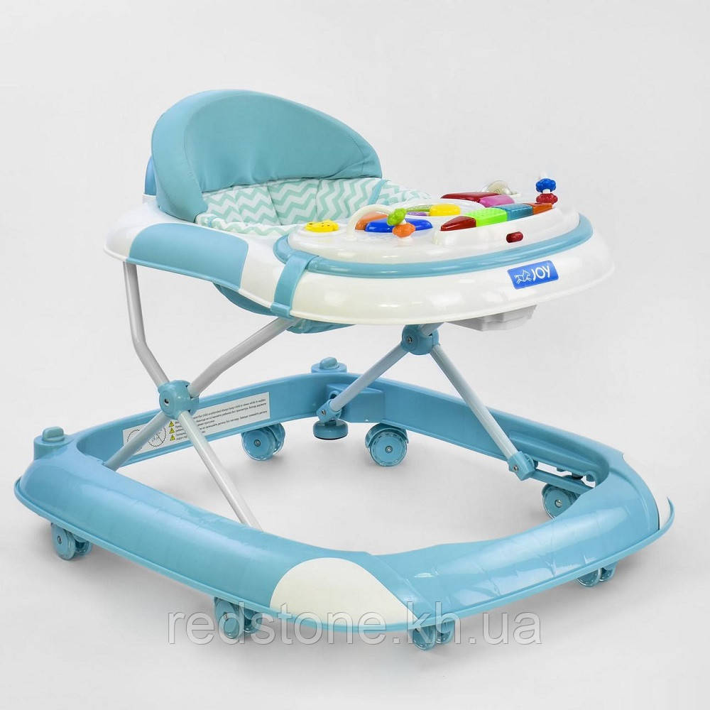 Ходунки музичні 1122 Joy Toy Блакитні