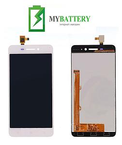 Дисплей (LCD) Lenovo S60 с сенсором белый