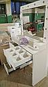 Туалетный столик с открывающимся зеркалом и шкатулками., фото 10