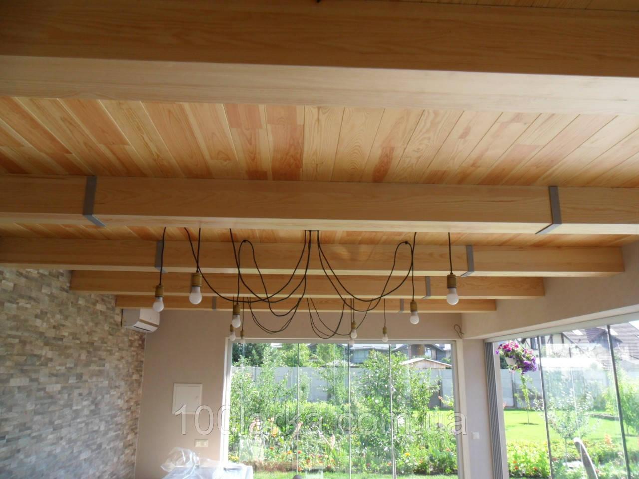 Декоративные балки (фальш балки) деревянные 160 х 160