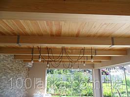 Декоративні балки (фальш балки) дерев'яні 160 х 160
