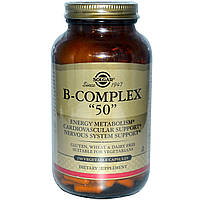 Комплекс витаминов группы В, Solgar, 250 капсул
